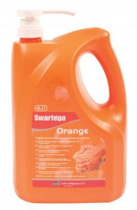 Gel de manos swarfega Orange